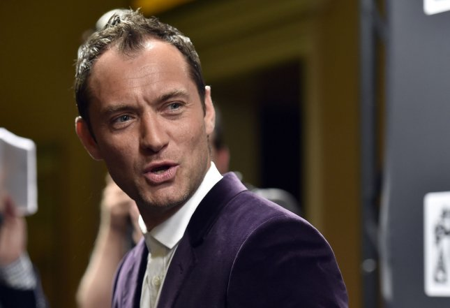 Actor Jude Law will star in the upcoming film Genius, following the story of the relationship between Thomas Wolfe and his editor, Max Perkins. Photo by David Becker/UPI