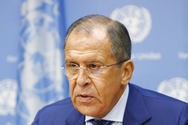 Russian Foreign Minister Sergey Lavrov said Russia is ready to coordinate efforts with the U.S. backed coalition against the Islamic State in Raqqa, Syria. File Photo by Monika Graff/UPI