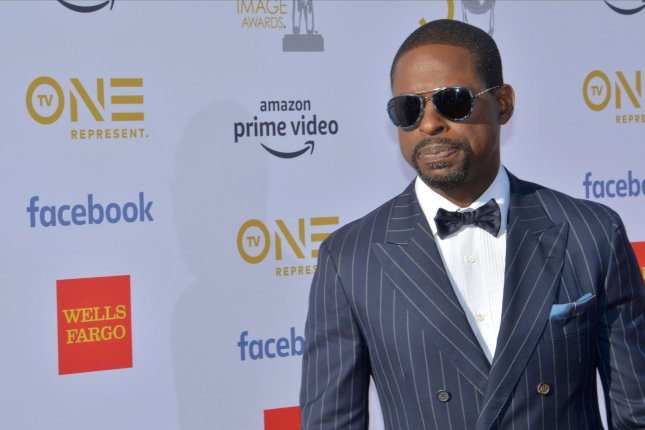 Sterling K. Brown arrives for the 50th annual NAACP Image Awards at the Dolby Theatre in the Hollywood section of Los Angeles on March 30. The actor turns 43 on April 5. Photo by Jim Ruymen/UPI