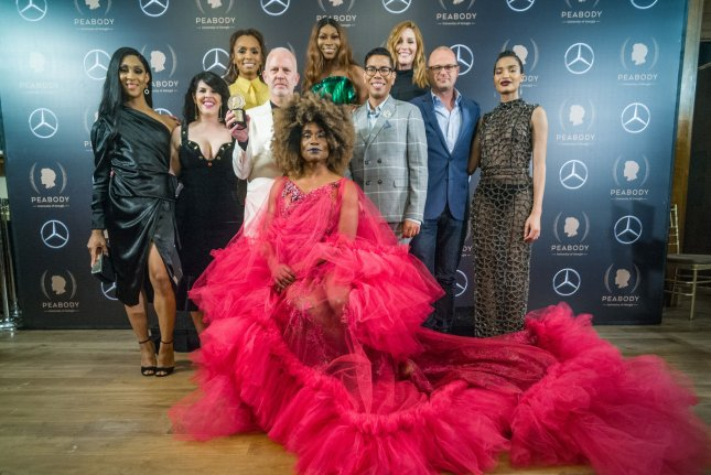 The cast and crew of FX's Pose. The series has been renewed for a third season. File Photo by Steven Ferdman/UPI