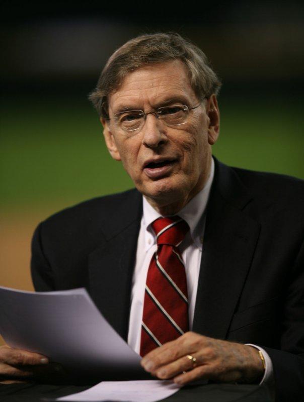 Major League Baseball Commissioner Bud Selig. (UPI Photo/Art Foxall)