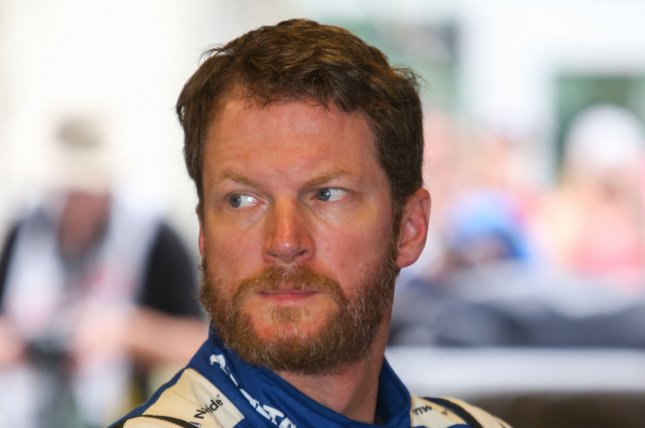 Dale Earnhardt Jr. and his family were taken to a local hospital with only minor cuts and abrasions after a plane crash in Tennessee. File Photo by Mike Gentry/UPI