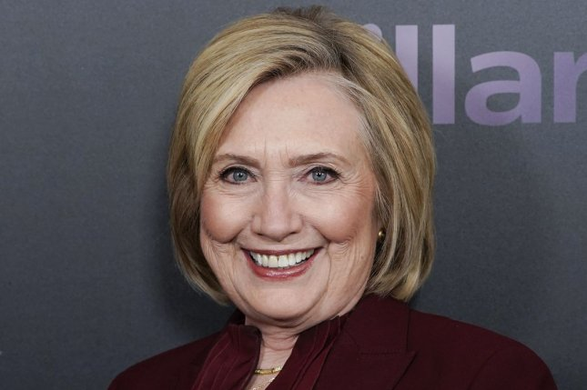 Hillary Clinton arrives at the premiere of Hillary on March 2020. Hulu is developing a new series based on novel Rodham, which follows Clinton in an alternate timeline. File Photo by John Angelillo/UPI