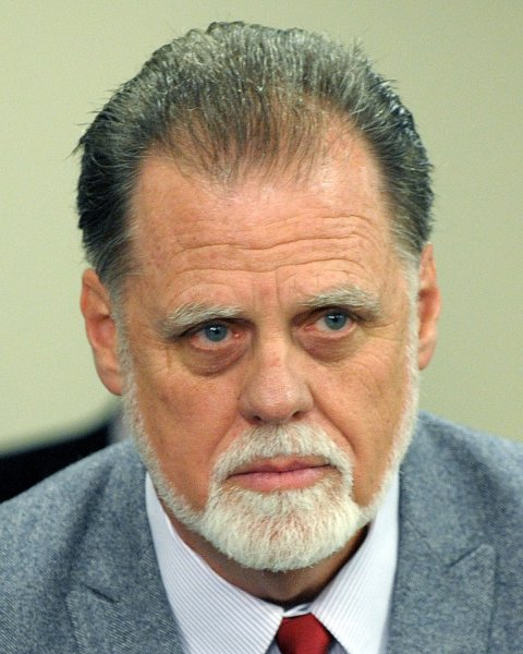 The Directors Guild of America's Taylor Hackford participates in Vice President Joe Biden's roundtable discussion on the Obama Administration's commitment to enforcing intellectual property rights throughout the world at the White House Conference Center in Washington on December 15, 2009. UPI/Roger L. Wollenberg