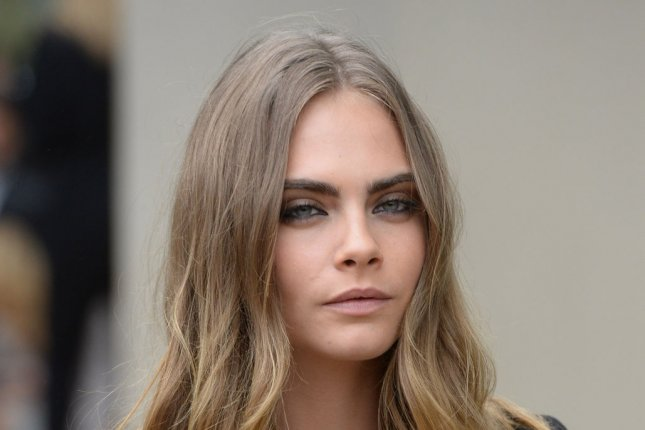Cara Delevingne at the Burberry Prorsum show at London Fashion Week on September 21, 2015. The model cameos in the new 'Call of Duty: Black Ops III' trailer. File photo by Rune Hellestad/UPI