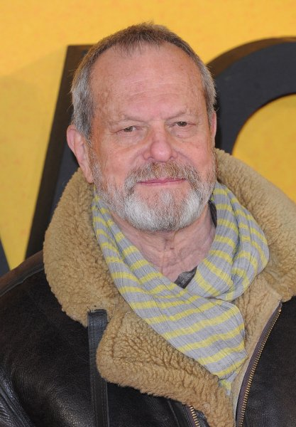 American director Terry Gilliam attends the U.K. premiere of The Wolf of Wall Street in London on January 9, 2014. File Photo by Paul Treadway/UPI