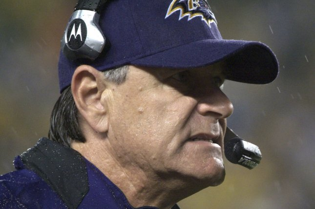 Former Baltimore Raven head coach Brian Billick has been employed as an NFL analyst since being fired in 2007. File photo by Archie Carpenter/UPI