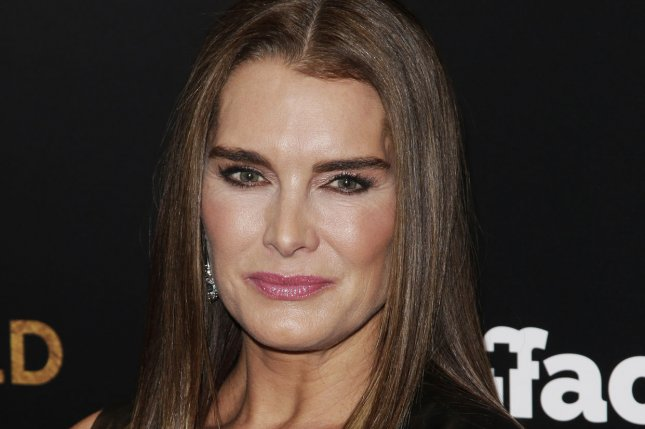Brooke Shields arrives on the red carpet at the New York premiere of Woman in Gold in New York City on March 30, 2015. She will guest star on Season 19 of Law & Order: SVU. File Photo by John Angelillo/UPI
