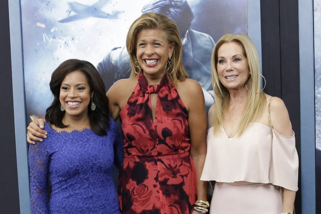 Hoda Kotb C Pictured Here With Chanel Jones L And Kathy Lee Gifford R Will Be Featured On Today As A Co Anchor File Photo By John Angelillo UPI