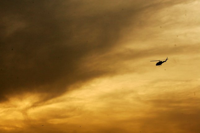 Authorities rescued three members of a helicopter crew after their aircraft went down off the New Zealand coast. File Photo by Mohammad Kheirkhah/UPI