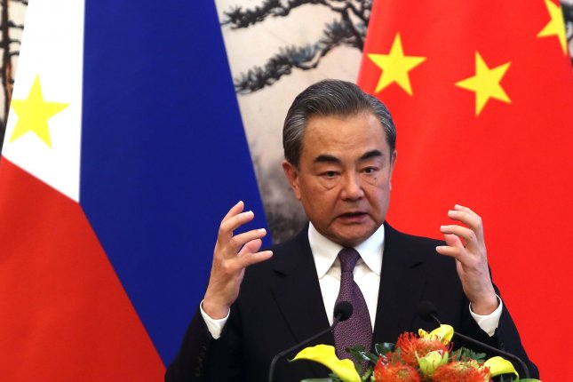 China's Foreign Minister Wang Yi said more action is required on North Korea. File Photo by Stephen Shaver/UPI