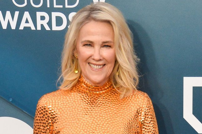 Catherine O'Hara will join film and TV composers and songwriters during a live stream for the MusiCares COVID-19 Relief Fund. FilePhoto by Jim Ruymen/UPI