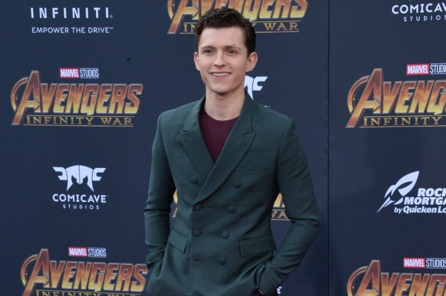 Tom Holland stars in the new trailer for Spider-Man: Far From Home alongside Jake Gyllenhaal. File Photo by Jim Ruymen/UPI.