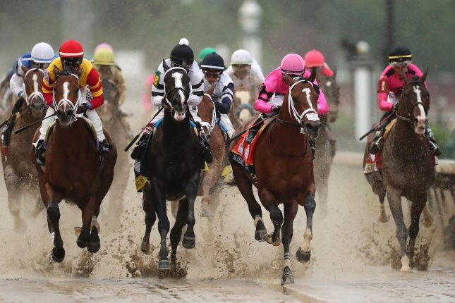 This is only the second time since WWII that the horse race has been rescheduled from the first Saturday in May in the event's 145-year history. Photo by John Sommers II/UPI