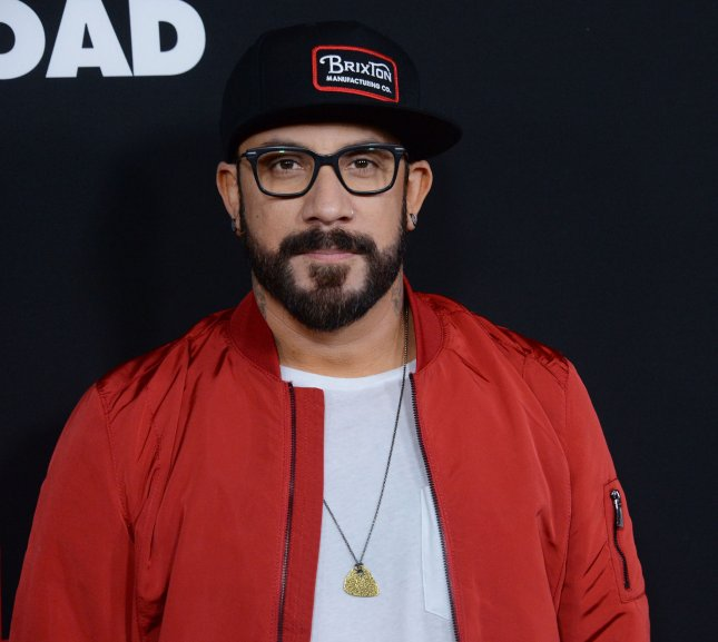 A.J. McLean was sent packing on Monday's edition of Dancing with the Stars. File Photo by Jim Ruymen/UPI