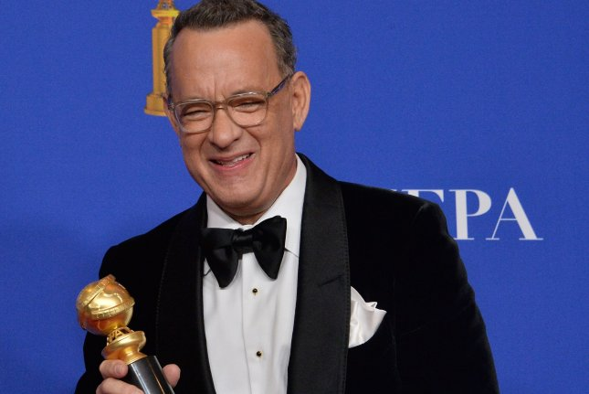 Tom Hanks is teaming up with Wes Anderson for the first time. File Photo by Jim Ruymen/UPI