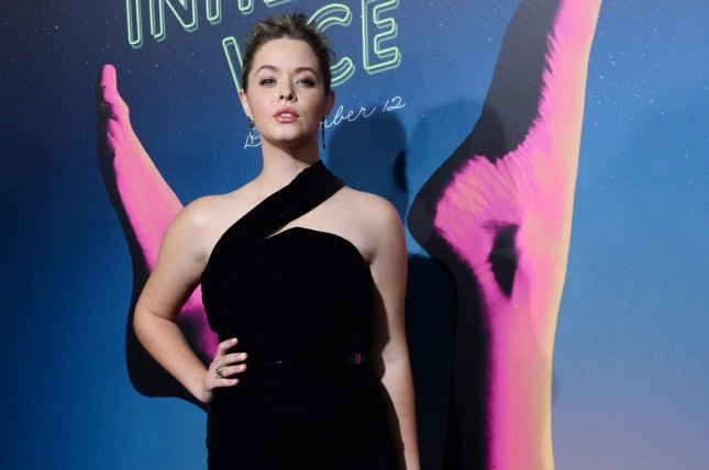 Cast member Sasha Pieterse attends the premiere of Inherent Vice in Los Angeles on December 10, 2014. The actress was eliminated from Dancing with the Stars Monday night. File Photo by Jim Ruymen/UPI