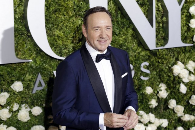 Kevin Spacey faces 20 counts of alleged inappropriate behavior following an investigation by the Old Vic theater. File Photo by John Angelillo/UPI