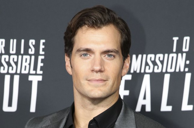 Four crew members tested positive for COVID-19 on the British set of Henry Cavill's The Witcher on Saturday. File Photo by Oliver Contreras/UPI