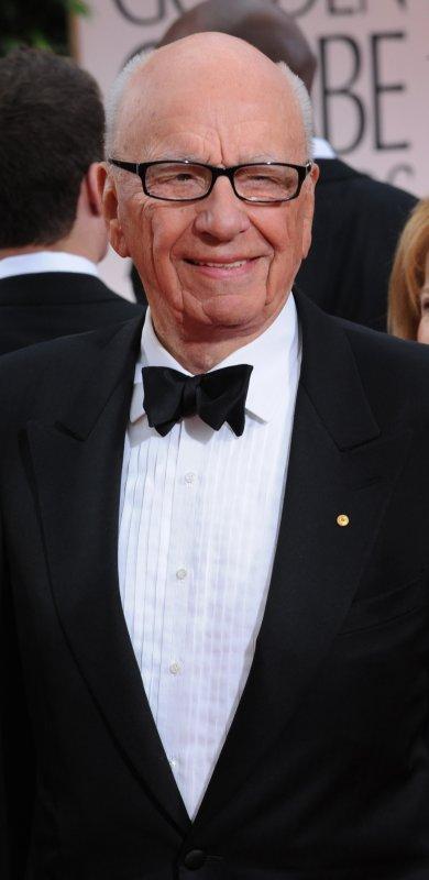 Media mogul Rupert Murdoch arrives at the 69th annual Golden Globe Awards in Beverly Hills, California on January 15, 2012. UPI/Jim Ruymen