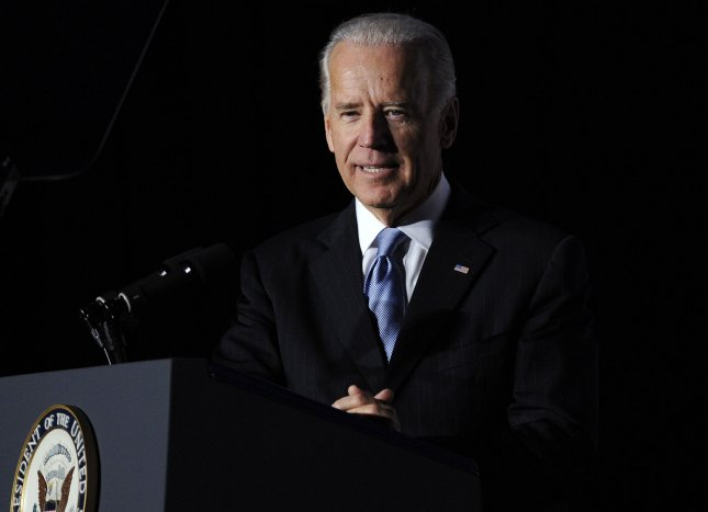 Vice President Joe Biden, shown in 2011 file photo, is visiting community colleges to announce federal grants for job training UPI/Roger L. Wollenberg