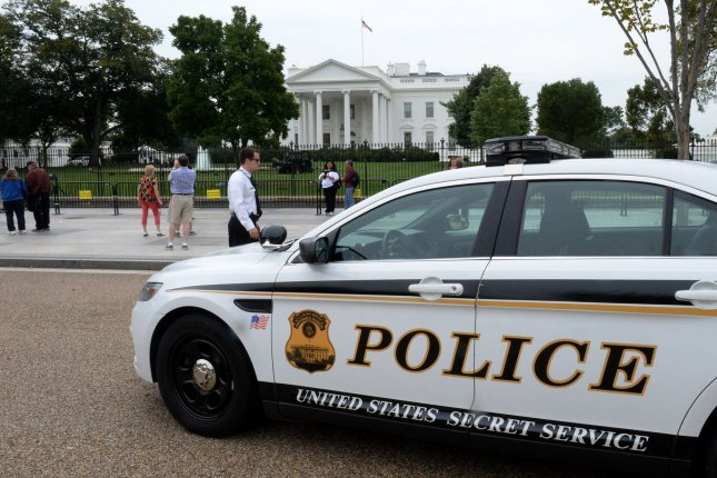 Authorities said a man arrested near the White House on Sunday had a carload of weapons -- including nine firearms. The man purportedly told Secret Service agents he wanted to speak to two to Trump administration officials. File Photo by Pat Benic/UPI