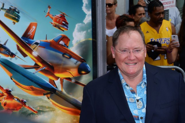 Disney Animation head John Lasseter announced Tuesday he plans to take a six-month leave of absence from Pixar after apologizing for missteps including unwanted hugs. File Photo by Jim Ruymen