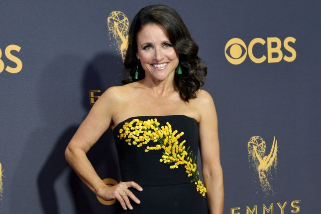 Julia Louis-Dreyfus posted a photo and updates after surgery. File Photo by Christine Chew/UPI
