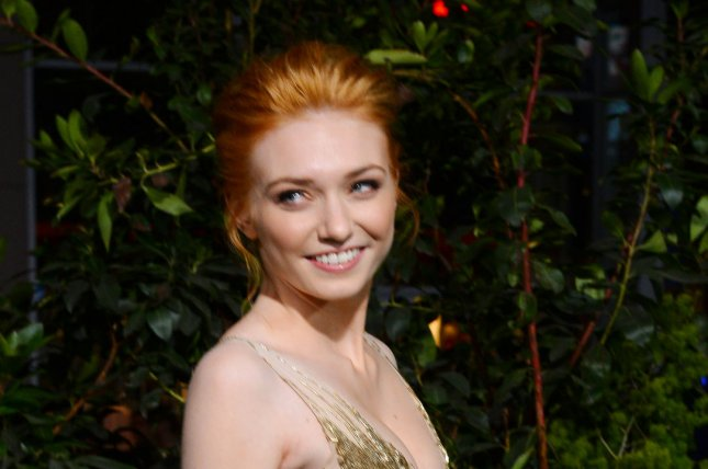 Actress Eleanor Tomlinson is in Liverpool working on a small-screen adaptation of War of the Worlds. File Photo by Jim Ruymen/UPI