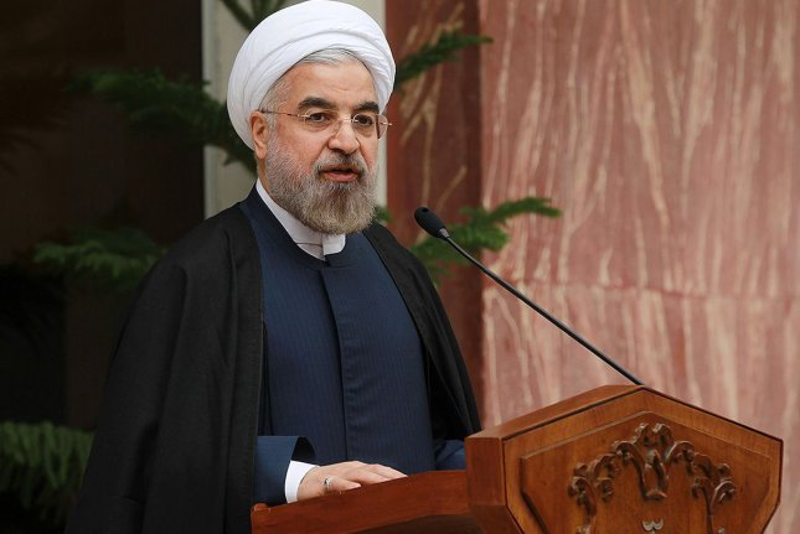 Iranian President Hassan Rouhani. UPI