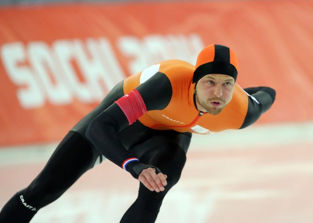 Gold and silver winners reverse in men's speed skating