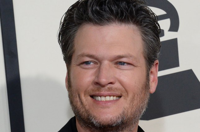 Recording artists Blake Shelton arrives for the 57th Grammy Awards at Staples Center in Los Angeles on February 8, 2015. File Photo by Jim Ruymen/UPI