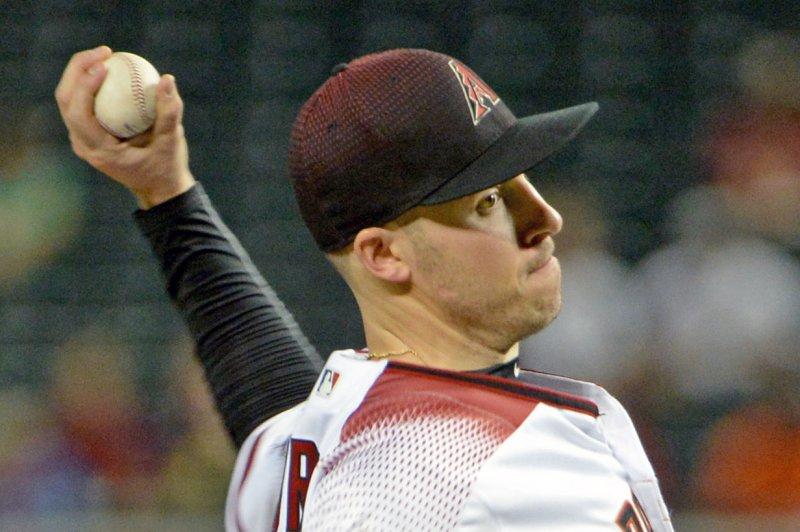 Patrick Corbin and the Arizona Diamondbacks face the San Diego Padres on Friday. Photo by Art Foxall/UPI