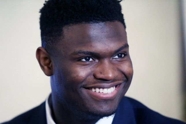 Former Duke star Zion Williamson will find out which NBA team he will join when the 2019 NBA Draft Lottery occurs on Tuesday in Chicago. File Photo by Bill Greenblatt/UPI