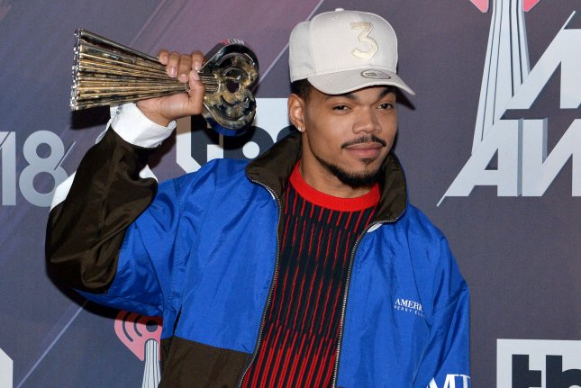 Chance the Rapper has joined the cast of Steven Universe The Movie alongside Patti LuPone. File Photo by Jim Ruymen/UPI