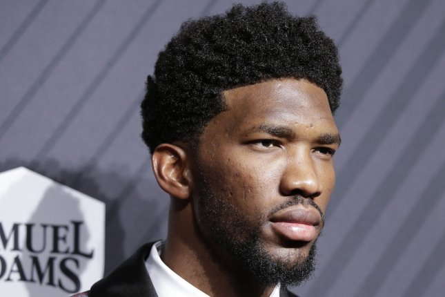 All-Star center Joel Embiid is now under contract for the next six seasons, thanks to his extension with the Philadelphia 76ers. File Photo by John Angelillo/UPI