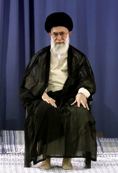 Iran's supreme leader, Ayatollah Khamenei, shown at a ceremony in Tehran Aug. 13, 2009. UPI /Khamenei Official Image