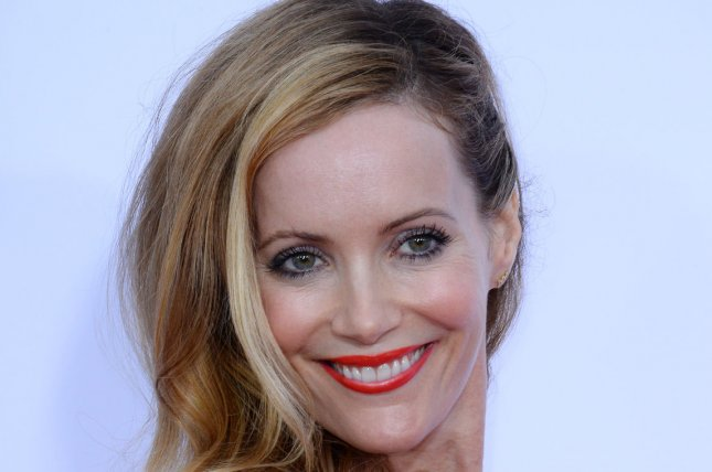 Cast member Leslie Mann attends the premiere of the motion picture romantic comedy The Other Woman at the Regency Village Theatre in the Westwood section of Los Angeles on April 21, 2014 Storyline: After discovering her boyfriend is married, Carly soon meets the wife he's been cheating on, she realizes they have much in common, and her sworn enemy becomes her greatest friend. And when yet another affair is discovered, all three women team up to plot mutual revenge on the three-timing SOB. UPI/Jim Ruymen
