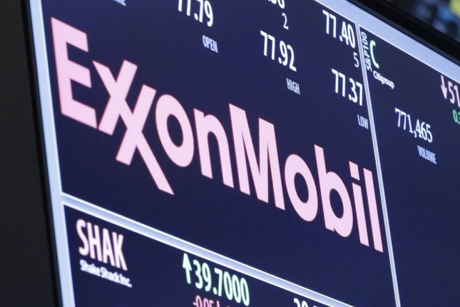 Exxon Mobil defends its research into climate change against state and advocacy group claims it misled investors decades ago about industry impacts on the environment. Photo by John Angelillo/UPI