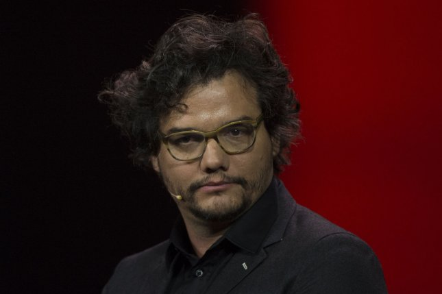 Wagner Moura, who plays drug lord Pablo Escobar on the Netflix series Narcos, appears at the 2016 International CES, a trade show of consumer electronics, in Las Vegas, on January 6, 2016. File Photo by Molly Riley/UPI