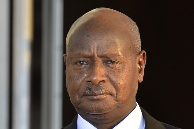 Uganda's President Yoweri Museveni, 71, might be allowed to run again in 2021 if an age limit of 75 is removed. File photo by Mike Theiler/UPI
