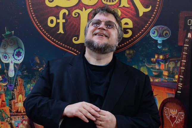 Trollhunters creator Guillermo del Toro is seen at the premiere of the animated motion picture The Book of Life in Los Angeles on October 12, 2014. File Photo by Jim Ruymen/UPI