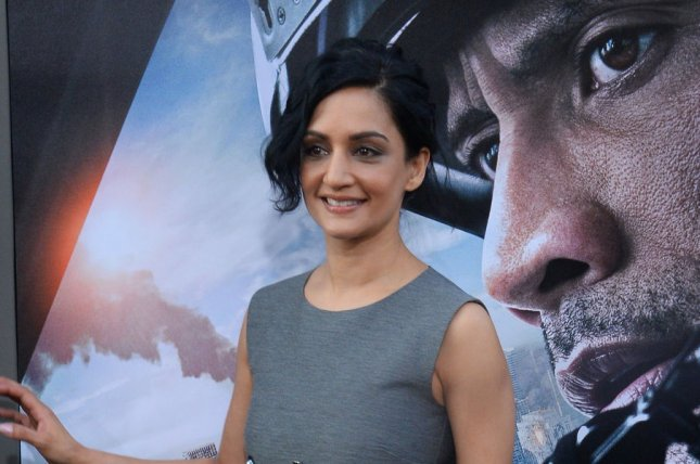 Archie Panjabi attends the premiere of San Andreas at TCL Chinese Theatre in Los Angeles on May 26, 2015. The actress is to star in the new ITV series Next of Kin. File Photo by Jim Ruymen/UPI