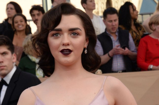 Maisie Williams discussed the eighth and final season of Game of Thrones in a new interview. File Photo by Jim Ruymen/UPI