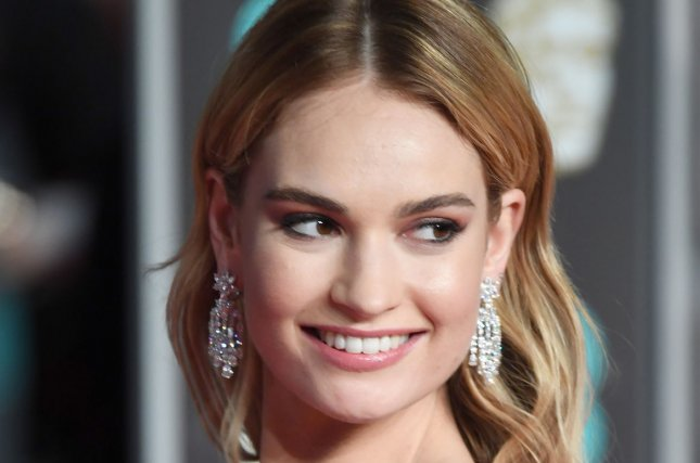 Lily James is to star in the BBC/Amazon dramedy, The Pursuit of Love. File Photo by Paul Treadway/ UPI