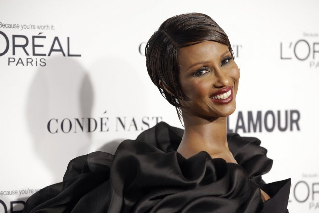 Iman arrives on the red carpet when Glamour Celebrates the 25th anniversary of the Woman of the Year Awards at Carnegie Hall on November 9, 2015 in New York City. File Photo by John Angelillo/UPI