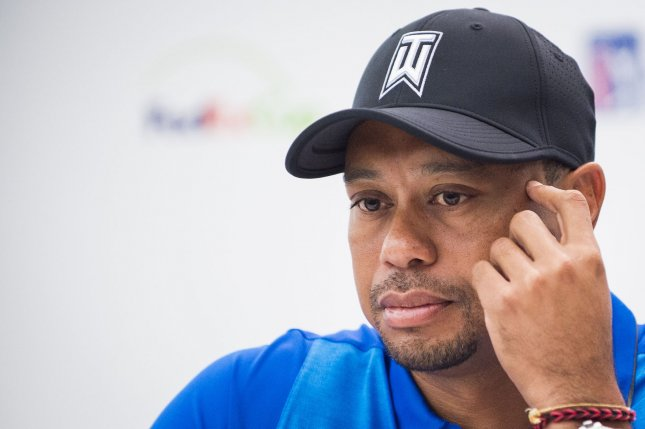 Tiger Woods will miss all four majors for the first time in his career. Photo by Pete Marovich/UPI