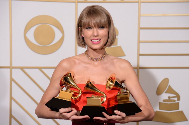 Taylor Swift backstage during the 58th annual Grammy Awards on February 15, 2016. Swift has been romantically linked to actor Joe Alwyn. File Photo by Phil McCarten/UPI