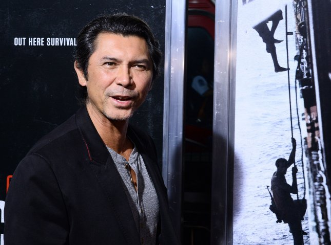 Actor Lou Diamond Phillips attends the premiere of the biographical motion picture thriller Captain Phillips at the Academy of Motion Picture Arts & Sciences in Beverly Hills, California on September 30, 2013. The film is the true story of Captain Richard Phillips and the U.S. flagged MV Maersk Alabama's 2009 hijacking by Somali pirates. The Alabama was the first American cargo ship to be hijacked in two hundred years. UPI/Jim Ruymen
