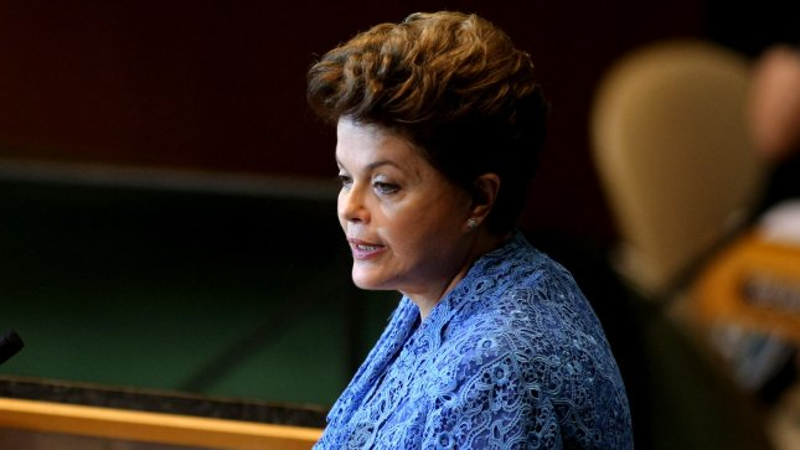 Brazilian President Dilma Rousseff. UPI/Monika Graff